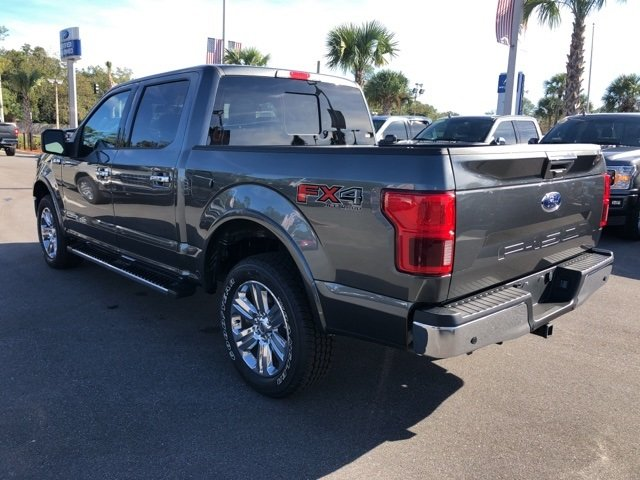 2018 Magnetic Metallic Ford F-150 Lariat 4 Door 3.0L Diesel Turbocharged Engine Automatic Truck 4X4