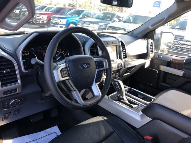 2018 Magnetic Metallic Ford F-150 Lariat 4X4 Truck Automatic 3.0L Diesel Turbocharged Engine 4 Door