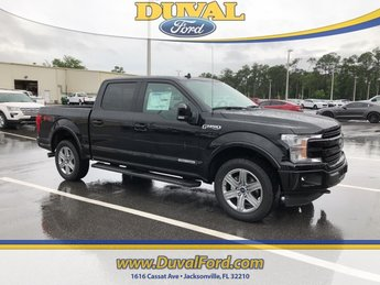 2018 Shadow Black Ford F-150 Lariat Truck Automatic 3.0L Diesel Turbocharged Engine 4 Door 4X4