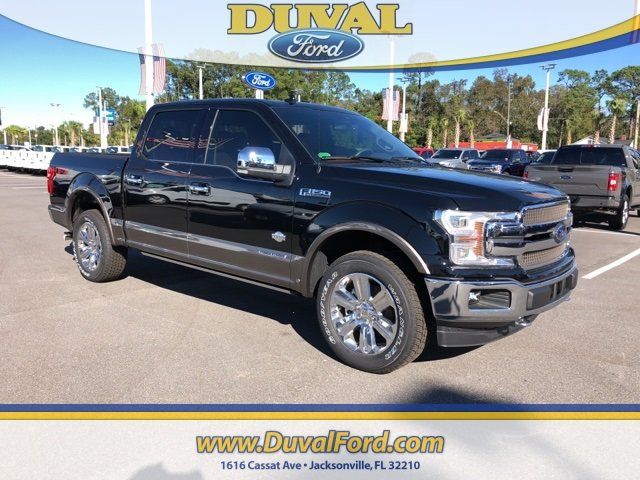2018 Shadow Black Ford F-150 King Ranch 4 Door Truck Automatic
