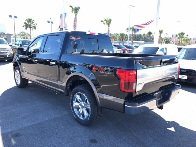 2018 Shadow Black Ford F-150 King Ranch 4X4 Automatic 3.0L Diesel Turbocharged Engine