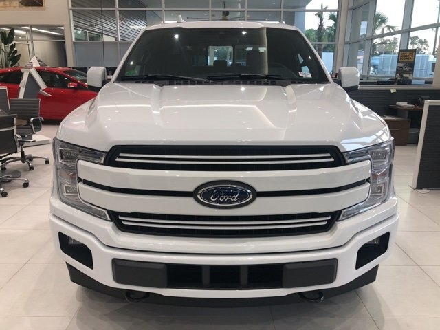 2018 Oxford White Ford F-150 Lariat 4 Door 4X4 Truck Automatic 3.0L Diesel Turbocharged Engine