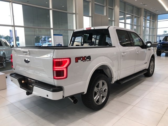2018 Ford F-150 Lariat Truck 4 Door Automatic 3.0L Diesel Turbocharged Engine