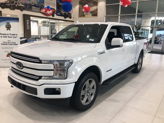 2018 Ford F-150 Lariat 4 Door 4X4 Automatic 3.0L Diesel Turbocharged Engine
