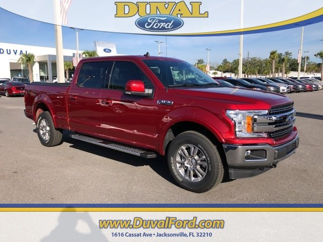2019 Ruby Red Metallic Tinted Clearcoat Ford F-150 Lariat 4X4 Automatic 4 Door Truck