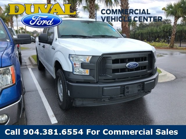 2017 Ford F-150 XL Truck 5.0L V8 FFV Engine 4X4