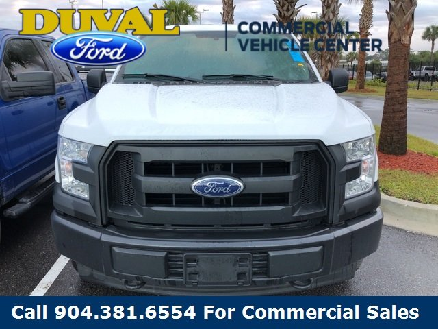 2017 Oxford White Ford F-150 XL Automatic 4X4 4 Door Truck