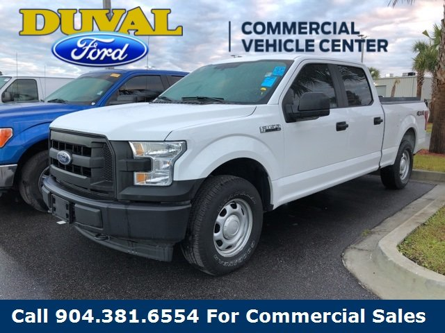 2017 Ford F-150 XL 4X4 5.0L V8 FFV Engine 4 Door Truck Automatic