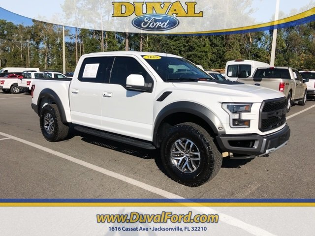 2018 Oxford White Ford F-150 Raptor 4X4 Automatic Truck