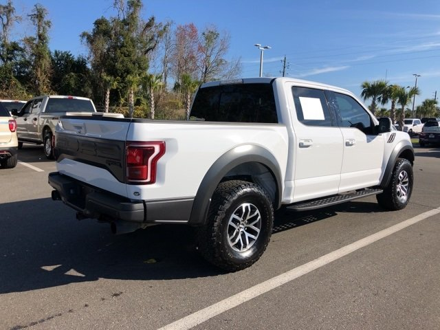 2018 Ford F-150 Raptor 4X4 4 Door Automatic EcoBoost 3.5L V6 GTDi DOHC 24V Twin Turbocharged Engine Truck