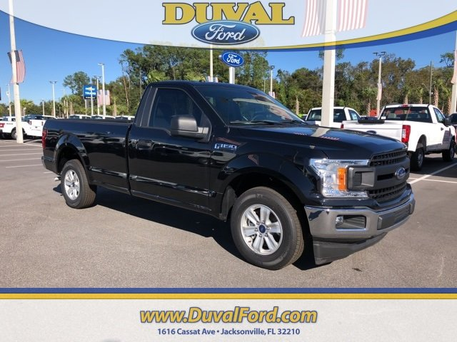 2018 Shadow Black Ford F-150 XL 2 Door Truck RWD 3.3L V6 Ti-VCT 24V Engine