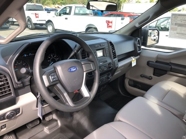 2019 Oxford White Ford F-150 XL 3.3L V6 Ti-VCT 24V Engine Automatic RWD