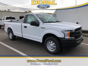 2019 Oxford White Ford F-150 XL 3.3L V6 Ti-VCT 24V Engine Truck 2 Door Automatic