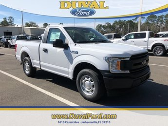2019 Oxford White Ford F-150 XL Automatic 2 Door RWD