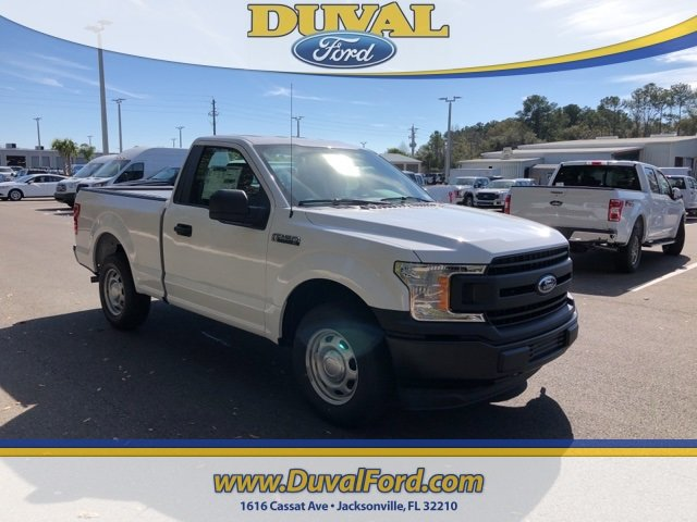 2019 Velocity Blue Metallic Ford F-150 XL Automatic 3.3L V6 Ti-VCT 24V Engine 2 Door RWD Truck