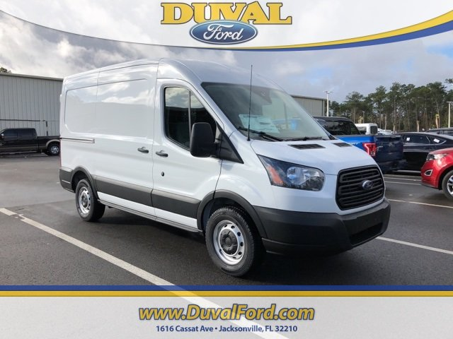 2019 Oxford White Ford Transit-150 Base RWD Van 3.7L V6 Ti-VCT 24V Engine Automatic 3 Door