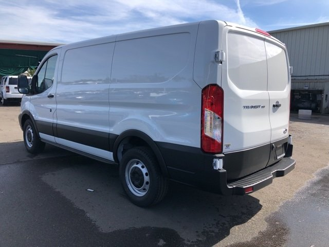 2019 Oxford White Ford Transit-150 Base Van 3.7L V6 Ti-VCT 24V Engine 3 Door RWD