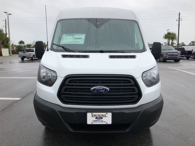 2019 Oxford White Ford Transit-150 Base 3.7L V6 Ti-VCT 24V Engine 3 Door Automatic RWD Van