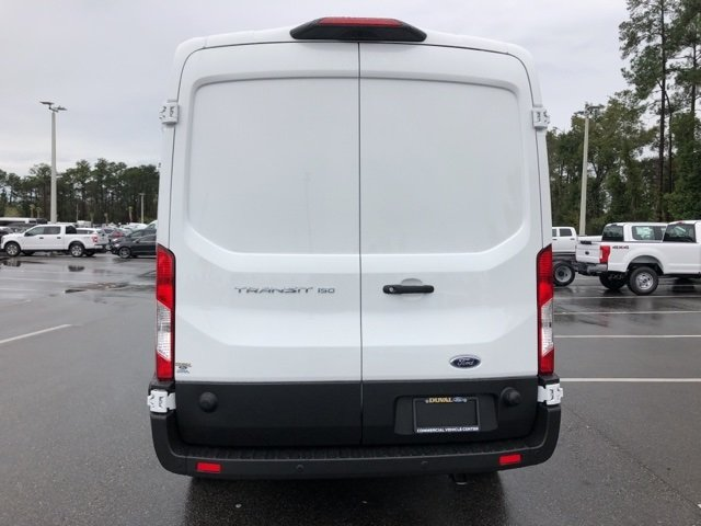 2019 Oxford White Ford Transit-150 Base 3 Door Van 3.7L V6 Ti-VCT 24V Engine RWD Automatic