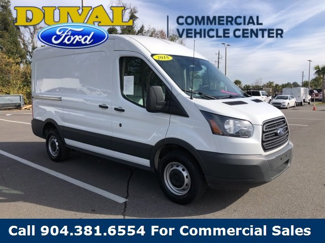 2018 Oxford White Ford Transit-250 RWD Automatic 3 Door