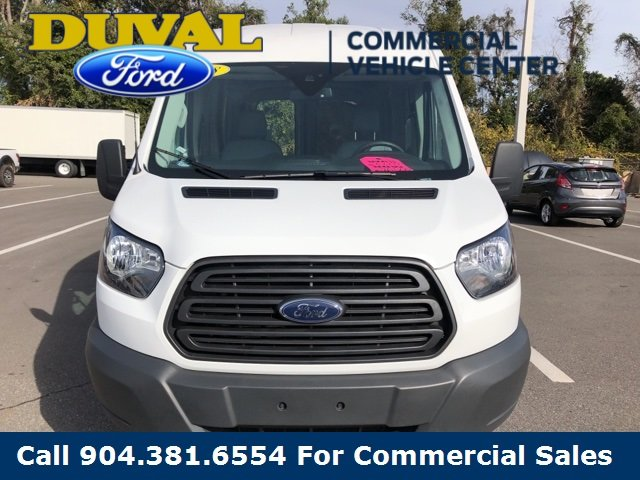 2018 Oxford White Ford Transit-250 3 Door Van Automatic RWD 3.7L V6 Ti-VCT 24V Engine
