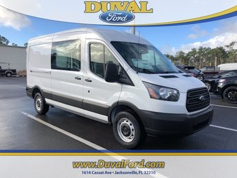 2019 Oxford White Ford Transit-250 Base Van Automatic 3 Door 3.7L V6 Ti-VCT 24V Engine RWD