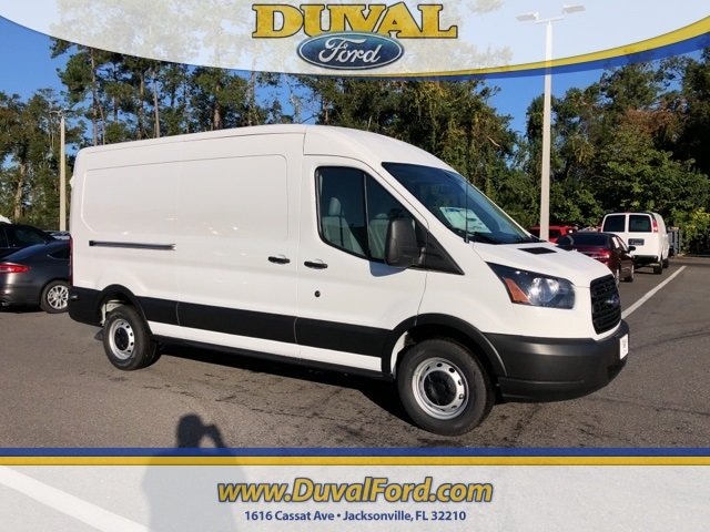 2019 Oxford White Ford Transit-250 Base 3 Door 3.7L V6 Ti-VCT 24V Engine RWD Van Automatic