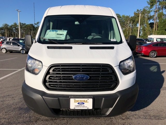2019 Oxford White Ford Transit-250 Base RWD 3.7L V6 Ti-VCT 24V Engine 3 Door