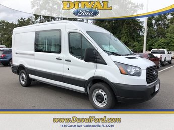 2019 Oxford White Ford Transit-250 Base 3.7L V6 Ti-VCT 24V Engine Van 3 Door Automatic RWD