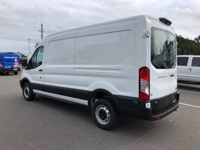 2019 Oxford White Ford Transit-250 Base 3.7L V6 Ti-VCT 24V Engine RWD 3 Door Automatic Van
