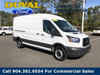 2018 Oxford White Ford Transit-250 Automatic 3.7L V6 Ti-VCT 24V Engine RWD 3 Door Van