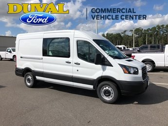 2019 Oxford White Ford Transit-250 Base 3.7L V6 Ti-VCT 24V Engine Van RWD 3 Door