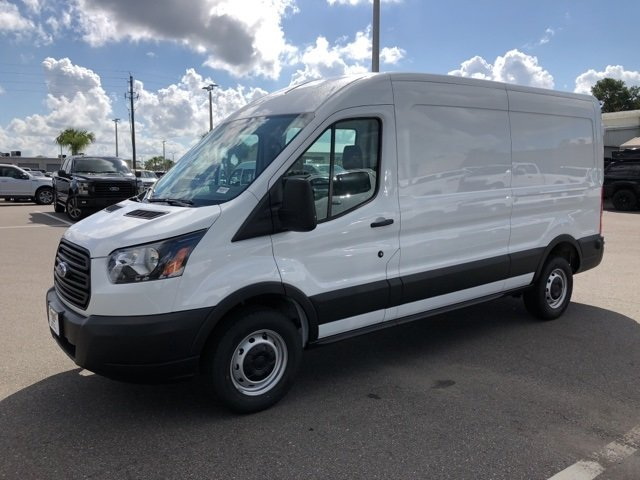 2019 Oxford White Ford Transit-250 Base Van Automatic RWD 3 Door 3.7L V6 Ti-VCT 24V Engine