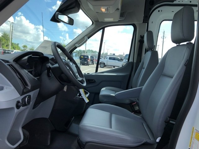 2019 Oxford White Ford Transit-250 Base 3 Door Van 3.7L V6 Ti-VCT 24V Engine Automatic