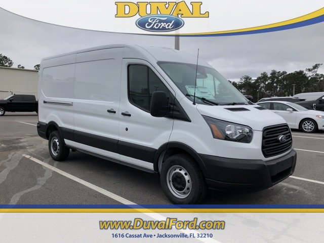 2019 Oxford White Ford Transit-250 Base RWD Van 3.7L V6 Ti-VCT 24V Engine 3 Door Automatic