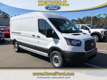 2019 Oxford White Ford Transit-250 Base Automatic RWD Van 3 Door 3.7L V6 Ti-VCT 24V Engine