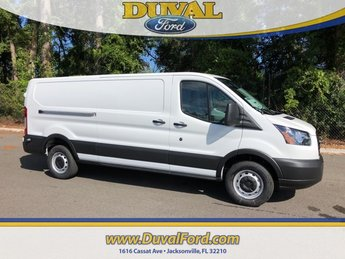 2019 Oxford White Ford Transit-250 Base 3.7L V6 Ti-VCT 24V Engine Van Automatic RWD
