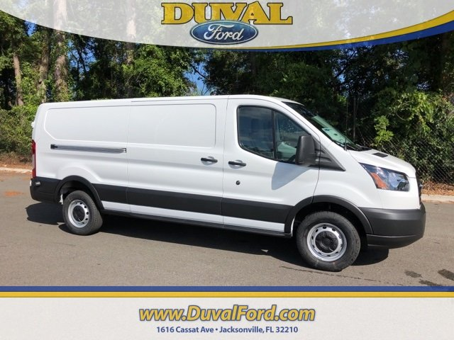 2019 Oxford White Ford Transit-250 Base Automatic 3.7L V6 Ti-VCT 24V Engine Van RWD