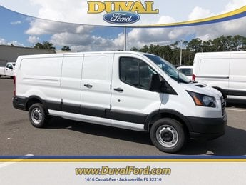 2019 Oxford White Ford Transit-250 Base Automatic Van 3 Door RWD 3.7L V6 Ti-VCT 24V Engine