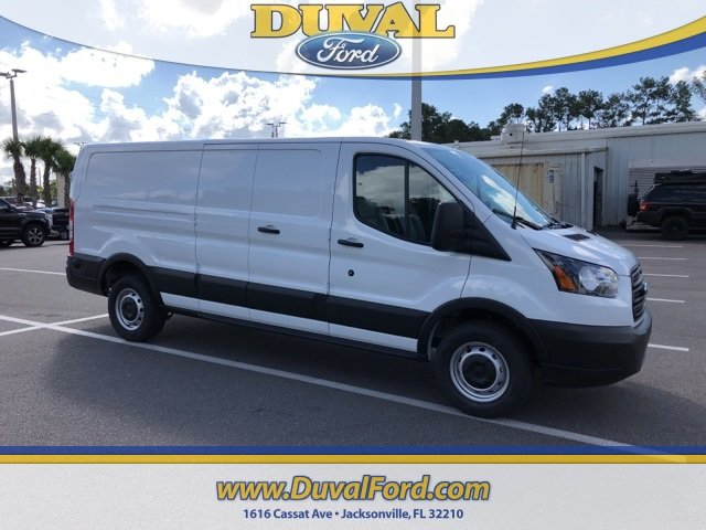 2019 Oxford White Ford Transit-250 Base 3.7L V6 Ti-VCT 24V Engine Van 3 Door