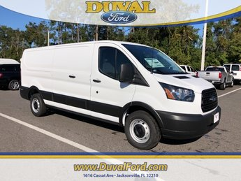 2019 Oxford White Ford Transit-250 Base Automatic RWD 3 Door Van