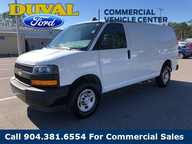 2018 Summit White Chevy Express 2500 Work Van Automatic RWD 4.3L V6 Engine