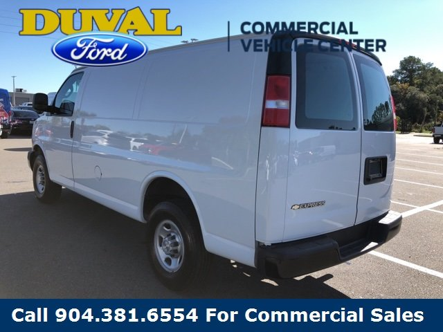 2018 Chevy Express 2500 Work Van 4.3L V6 Engine Automatic 3 Door Van RWD