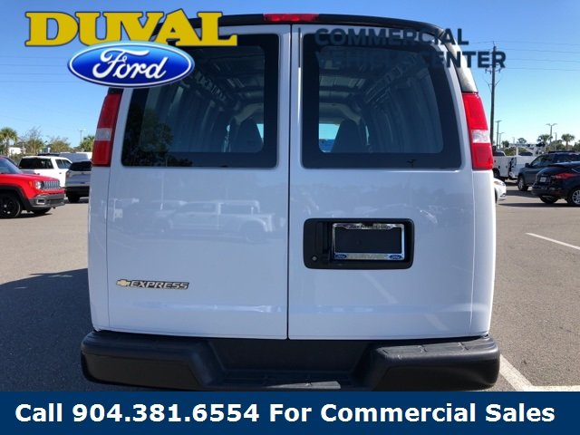 2018 Summit White Chevy Express 2500 Work Van Van Automatic 3 Door RWD 4.3L V6 Engine
