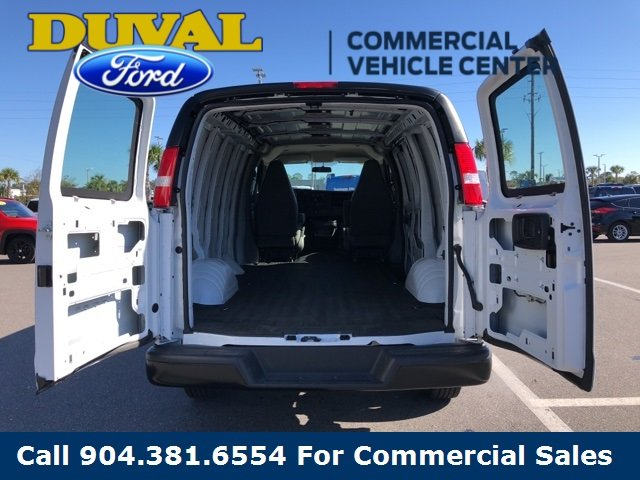 2018 Summit White Chevy Express 2500 Work Van Van 3 Door 4.3L V6 Engine Automatic
