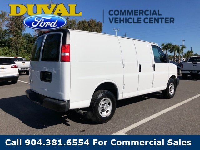 2018 Chevy Express 2500 Work Van 4.3L V6 Engine 3 Door RWD Van