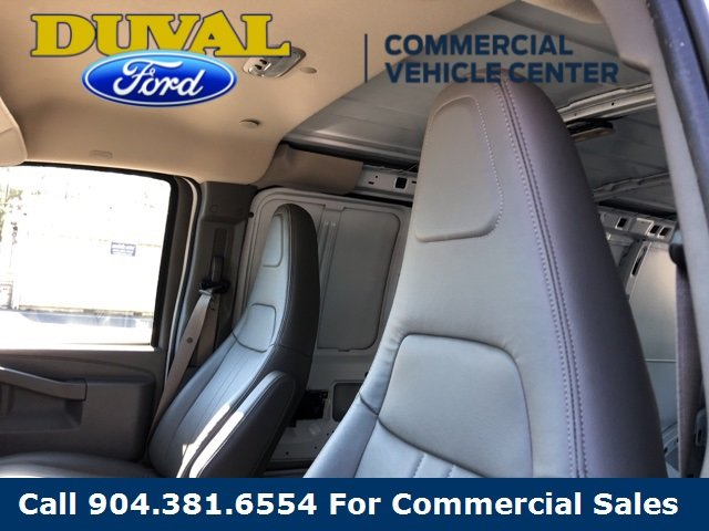 2018 Summit White Chevy Express 2500 Work Van 3 Door Automatic 4.3L V6 Engine RWD