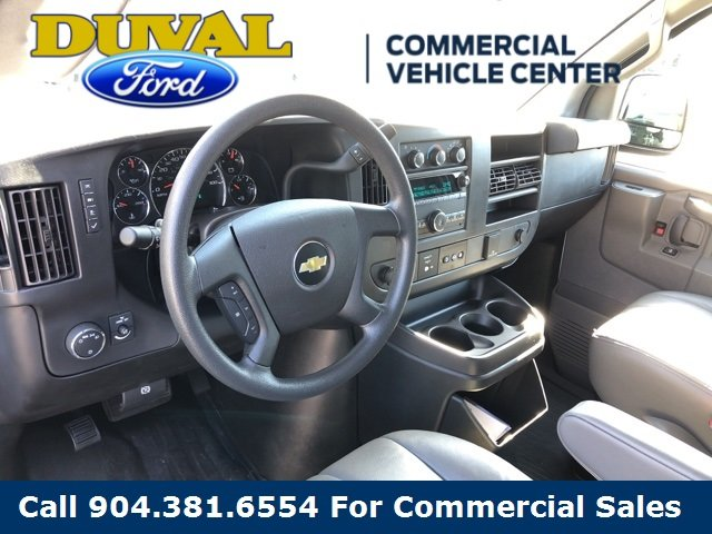 2018 Summit White Chevy Express 2500 Work Van 3 Door Van 4.3L V6 Engine RWD Automatic