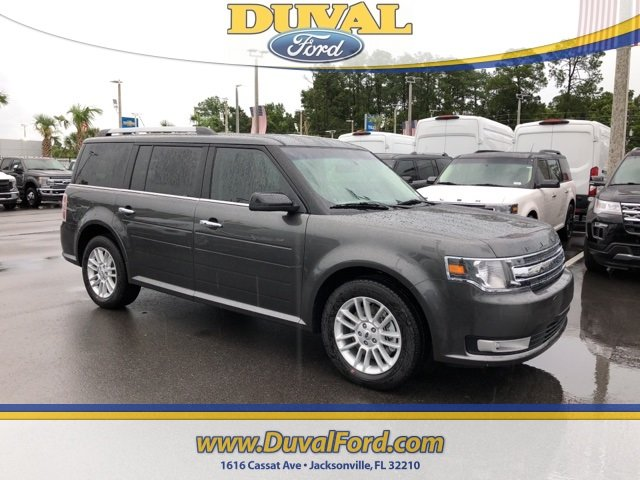 2019 Magnetic Ford Flex SEL Automatic SUV 4 Door 3.5L V6 Ti-VCT Engine