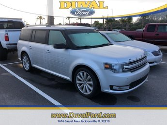 2014 Ingot Silver Metallic Ford Flex SEL SUV FWD 4 Door 3.5L V6 Ti-VCT Engine Automatic